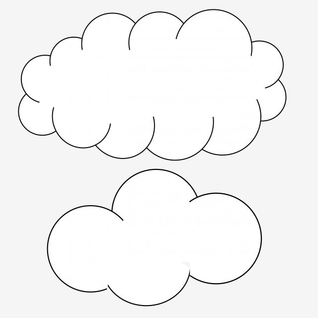 Clouds Bd Comic Cartoon Clouds Stickers Png And Vector With Transparent Background For Free Download Cloud Stickers Cartoon Clouds Cloud Outline