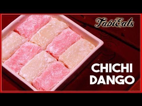 Chichi Dango (Japanese Traditional Sweets Recipe)【紅白に】ミルク餅でおめでたく - YouTube