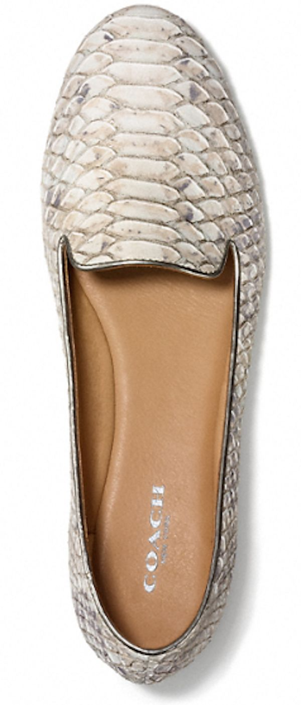 COACH python print smoking slippers rstyle.me/...