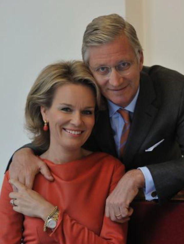 Prins Philip en Prinses Mathilde Belgium's royals.... From Juli 21st 2013, king and queen of Belgium