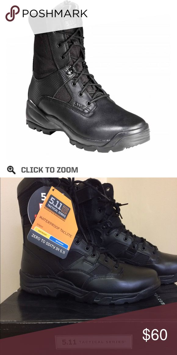 5.11 tactical boots 8 inch side zip 5.11 waterproof and composite toe boots 5.11 Tactical Shoes Boots