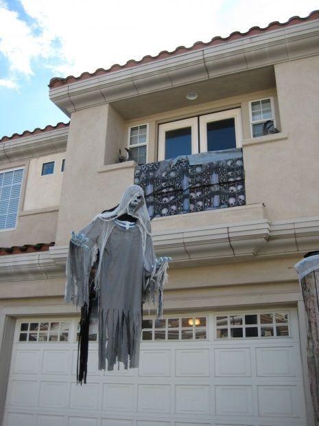 flotar entidad maligna ideas decoración fantasma de Halloween