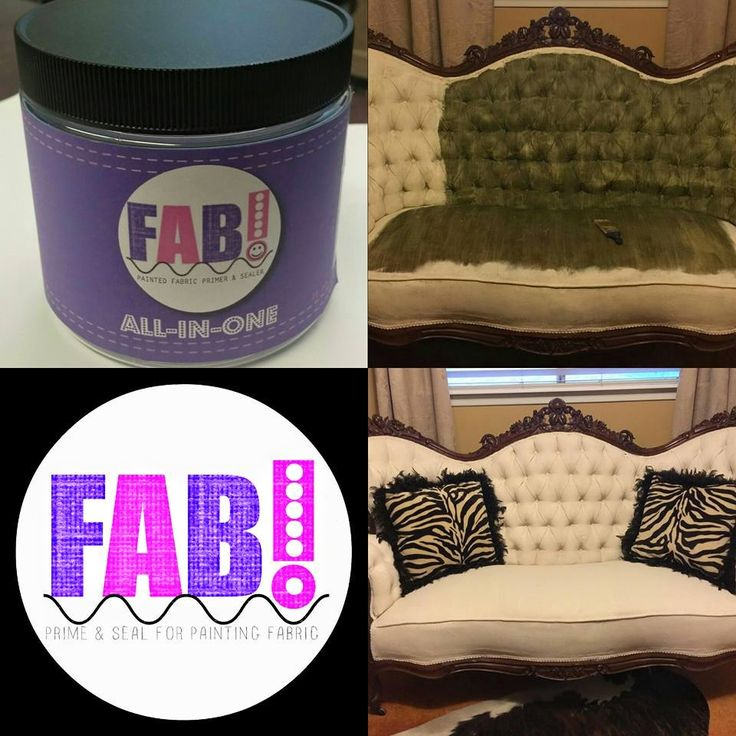 Introducing FAB, our new fabric painting medium. This is a game changer for furniture flippers & DIY'ers, who are not skilled in the art of reupholstery! Now you can change that ugly upho…