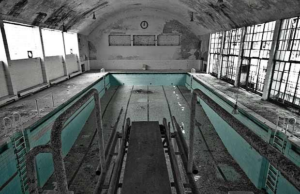 Extraordinary images, from a mental hospital in Surrey, England, to Michael Jackson's hauntingly empty hometown. 1936 Berlin Olympic Village Outside of Berlin, buildings and facilities used by athletes attending the controversial 1936 Berlin Olympics lie unkempt and empty.