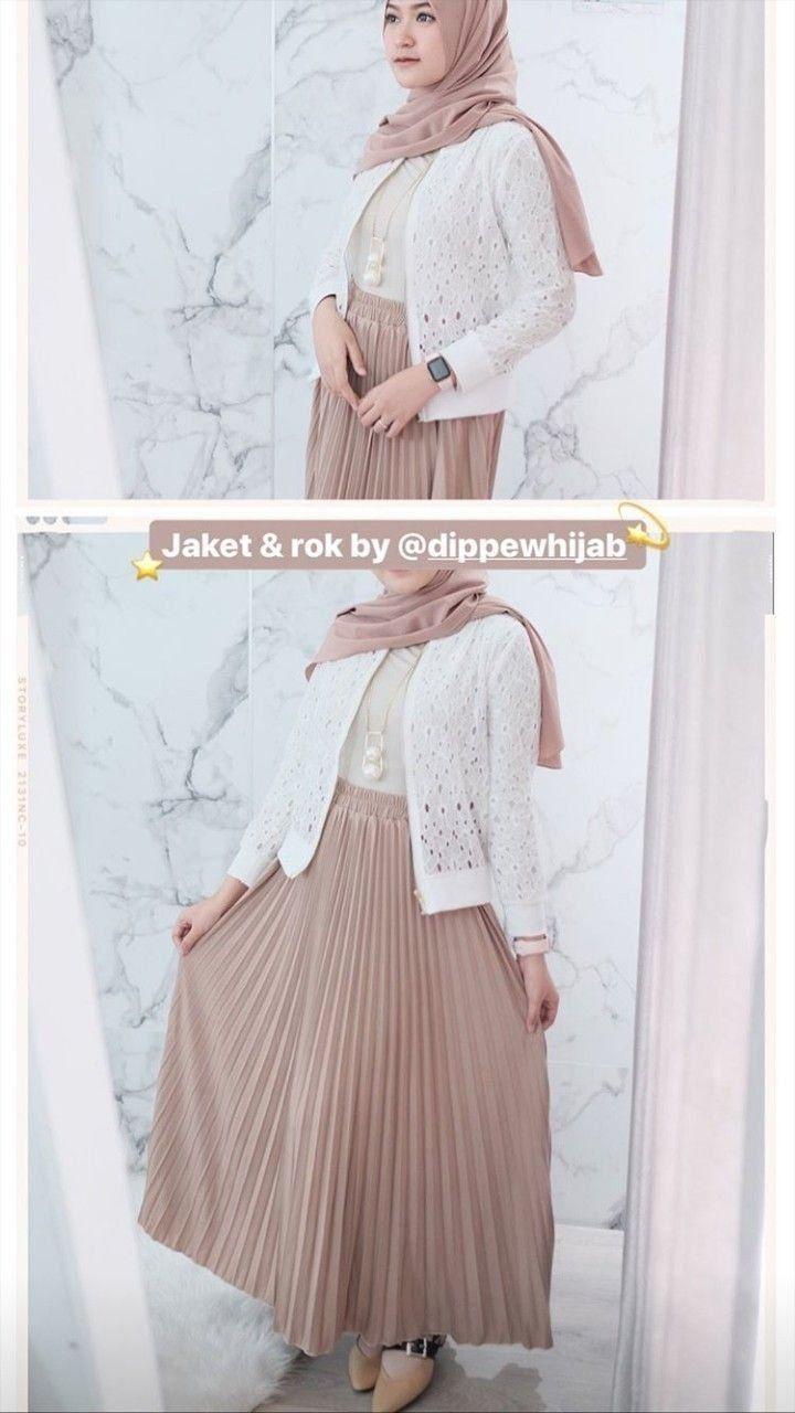 Outfit Kondangan Hijab Fashion Remaja . Outfit Kondangan Hijab