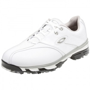 SALE - Oakley Single Action Golf Cleats Mens White - Was $130.00. BUY Now - ONLY $80.99