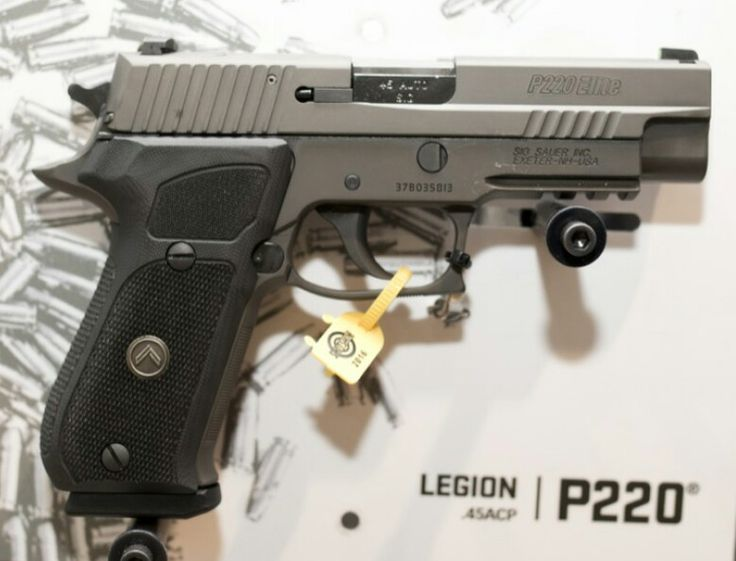 Sig p220 Full size Legion Speed up and simplify the pistol loading process  with the RAE Industries Magazine Loader. http://www.amazon.com/shops/raeind