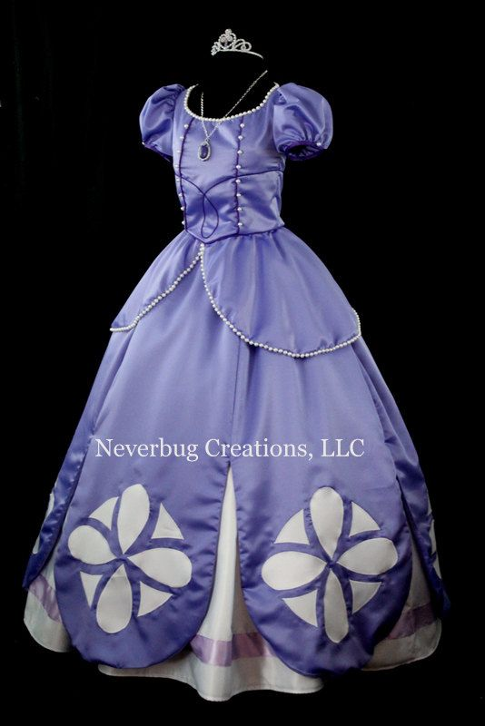Sofia Costume Two Versions by NeverbugCreations on Etsy