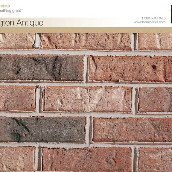 166 0886 Bessemer Collection Residential Bricks