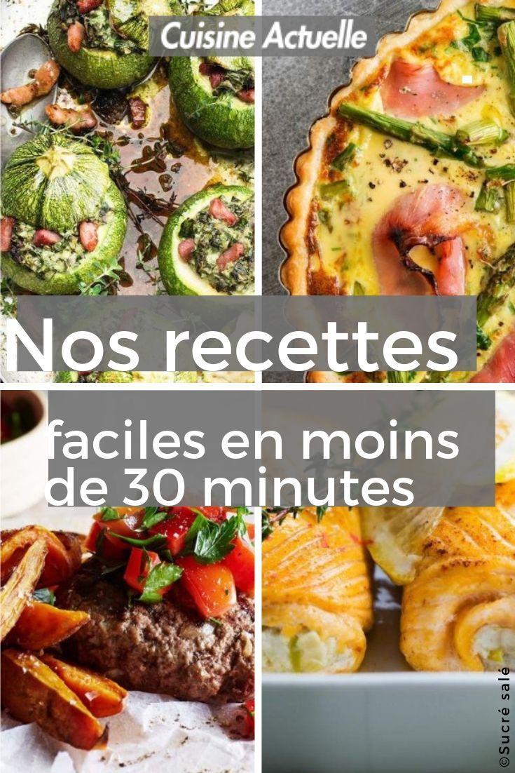 12 recettes faciles en moins de 12 minutes   Recette diner rapide ...