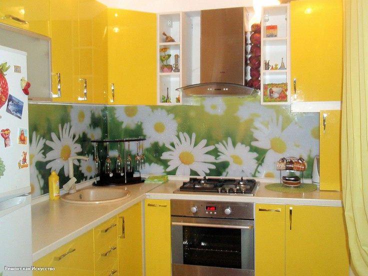 Кухня дизайн яркая