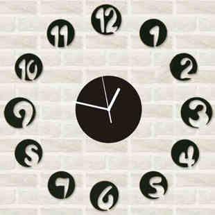 Творческий гостиной настенные часы часы римские цифры кварц карманные часы DIY украшения мода настенные часы немой доставка-tmall.com день к ...