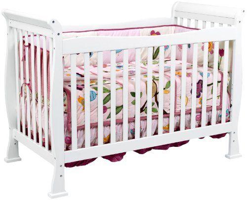 DaVinci Reagan 4-in-1 Convertible Crib with Toddler Rail, White