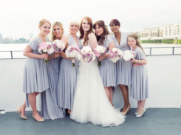 WIN multiway bridesmaid dresses worth £450! • Wedding Ideas magazine