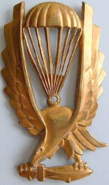 Distintivo di brevetto di paracadusta Italiano