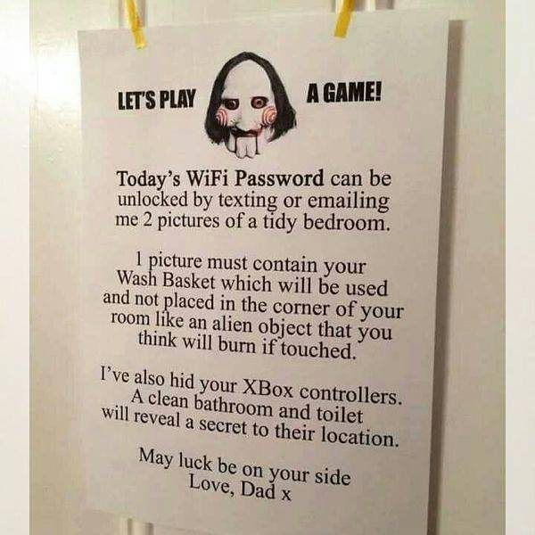 Best life hack. Follow @9gag for more dad jokes. #9gag #chores #tidy #dad
