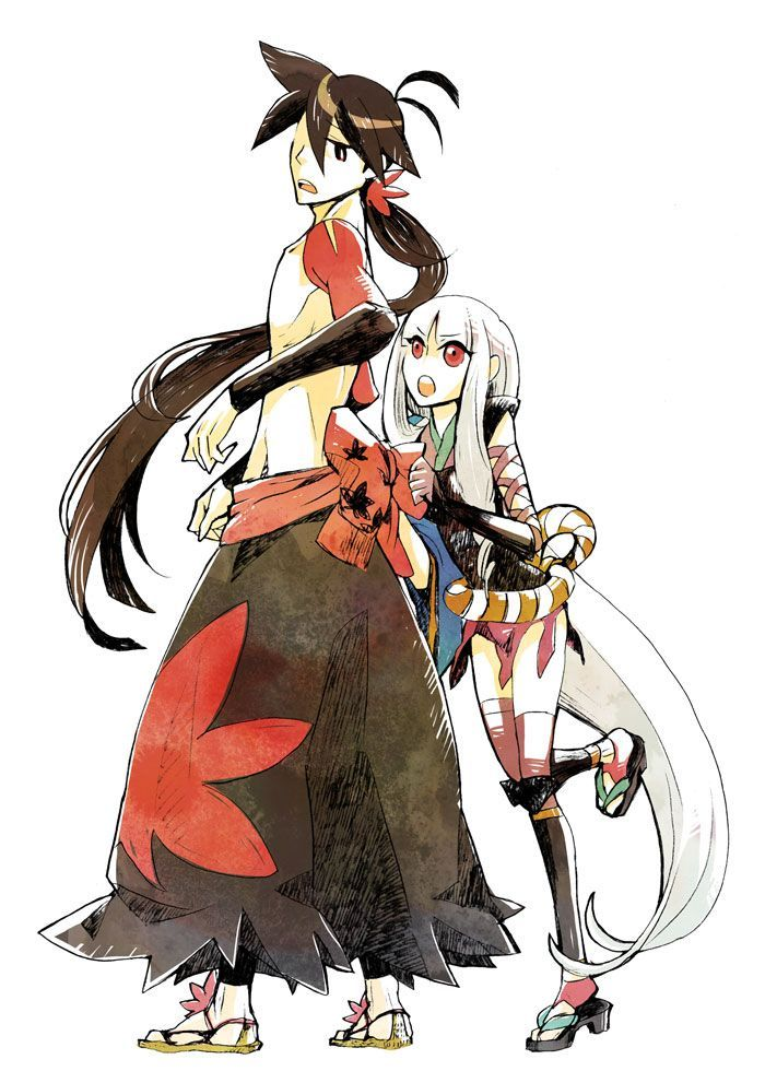 anime with animals as main characters: 106 Best Katanagatari Images On Pinterest
