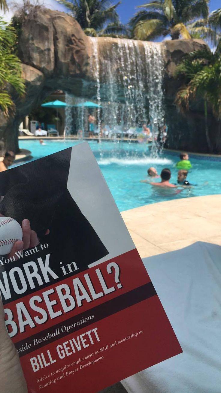 Leslie in Florida Good poolside reading!