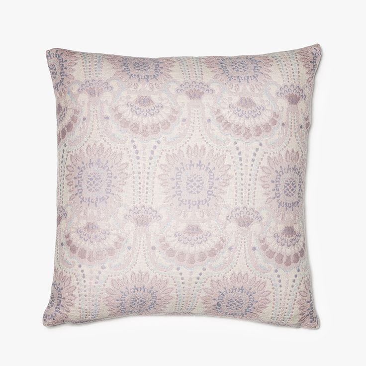 Lennol | ODELIA Ornamental design patterned cushion, light rose