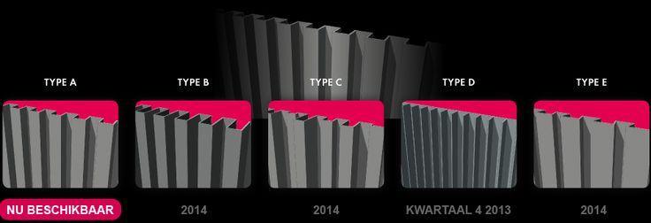 Alinel verticale profielen in aluminium mat riaux pinterest poorten oprit poorten en gevels - Eigentijdse design ingang ...