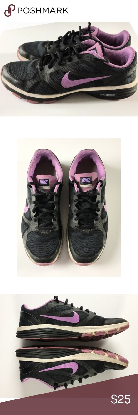 Nike Dual Fusion Training Sneakers Nike Dual Fusion TR 443837-005 sneakers women's size 8.  Gently used. Nike Shoes Athletic Shoes