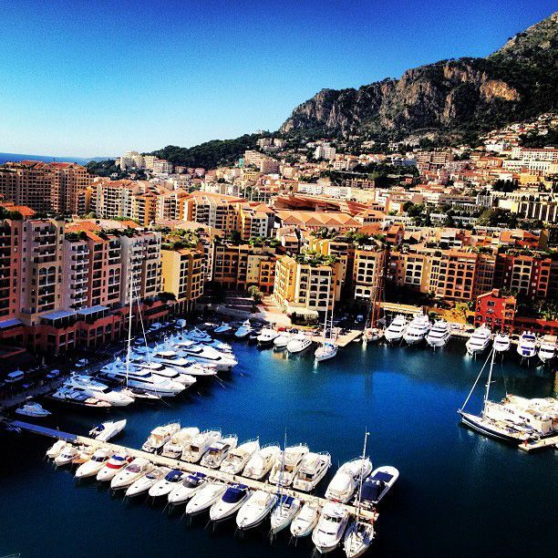 Take a hint from the scene down at the port鈥攃ruising to Monte Carlo is a good idea. | More all-inclusive luxury #cruise options.    Photo courtesy of @ floridagirl34210 via Instagram