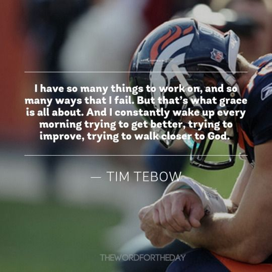The Word For The Day quotes, bible quotes, tim tebow