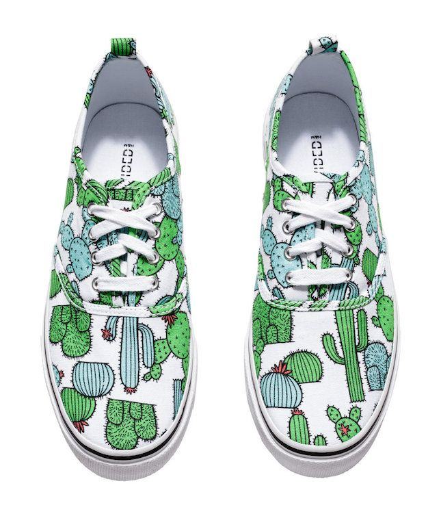 These rad sneakers are oh-so fun.