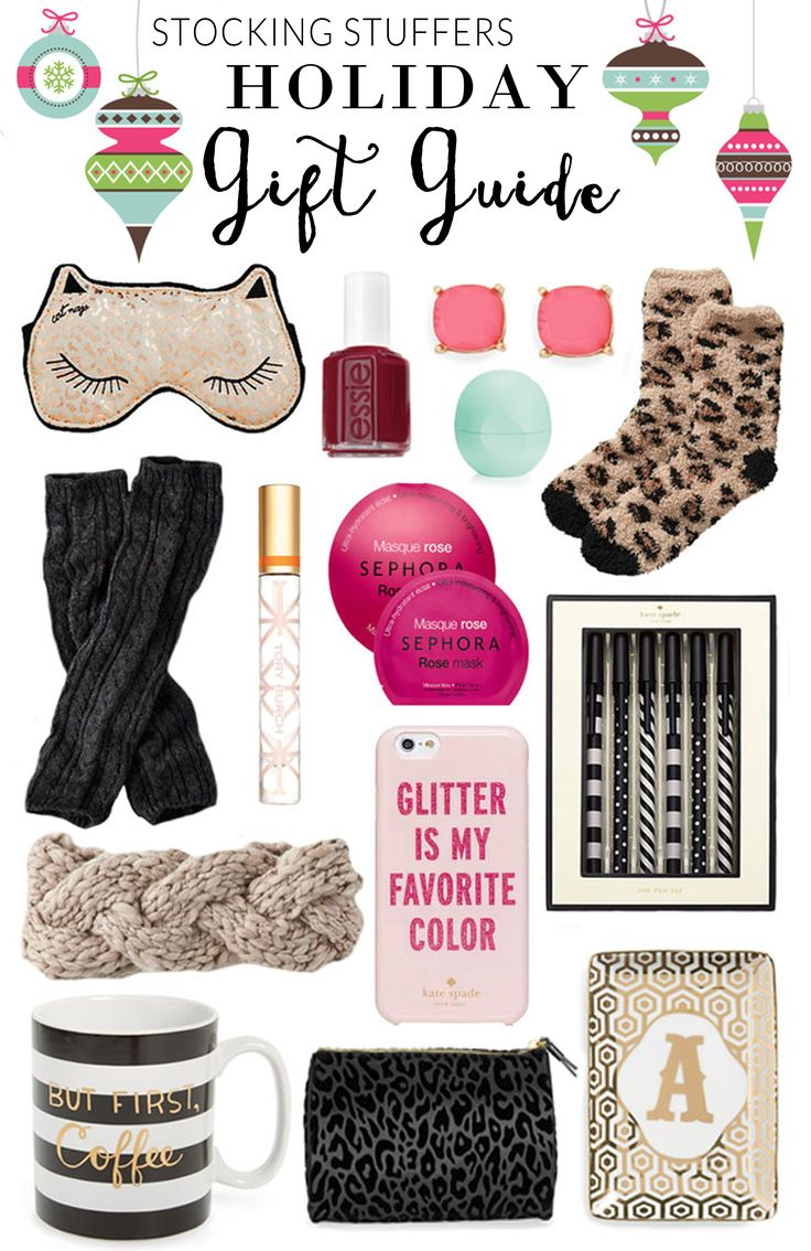 The best stocking stuffers for this holiday season! Everything is under $40 AND are all useful!
