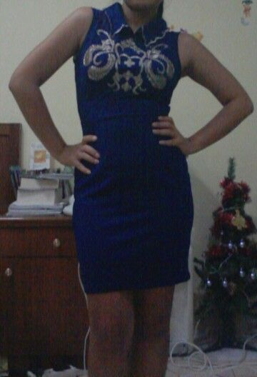 Blue dress from berrybenka. Love this