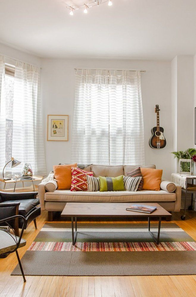 House Tour A Soothing Soulful Logan Square Apartment Living Room ApartmentApartment TherapyApartment IdeasSmall