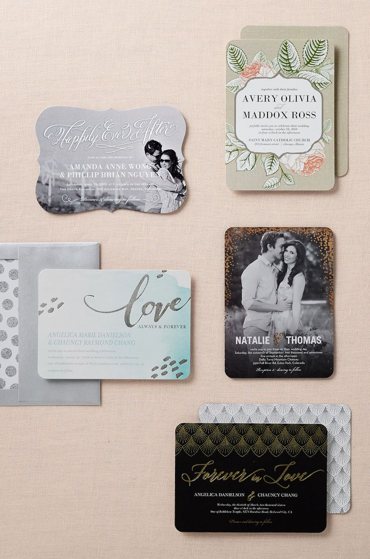 Fabulous ways to customize your invites and save the dates