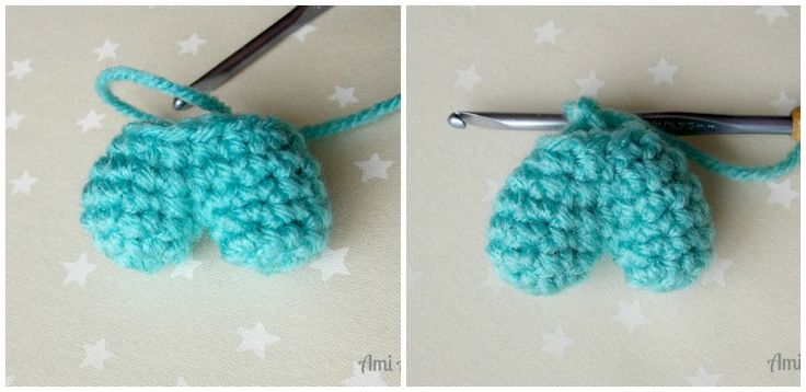 Crochet Pattern Amigurumi Turtle Crochet Keychain : Mas de 1000 imagenes sobre Crochet Amor en Pinterest ...