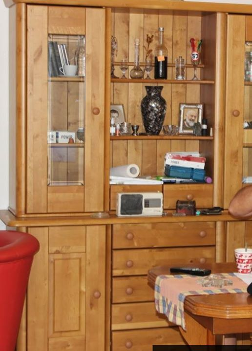 Vintage Wohn schrank von Moebel Martin Alles Echt Holz u Voelklingen Gebraucht Link zum Angebot Wohn schrank von Moebel Martin Alles Echt Holz u