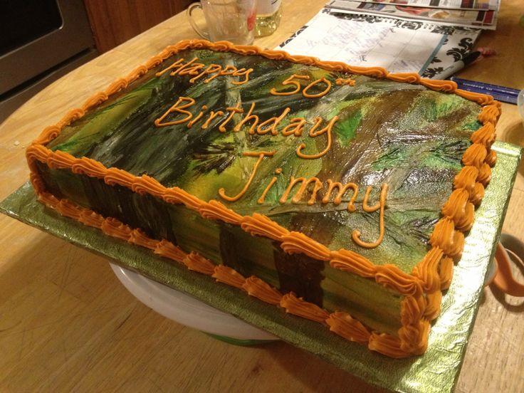 Pinterest Camo Cakes