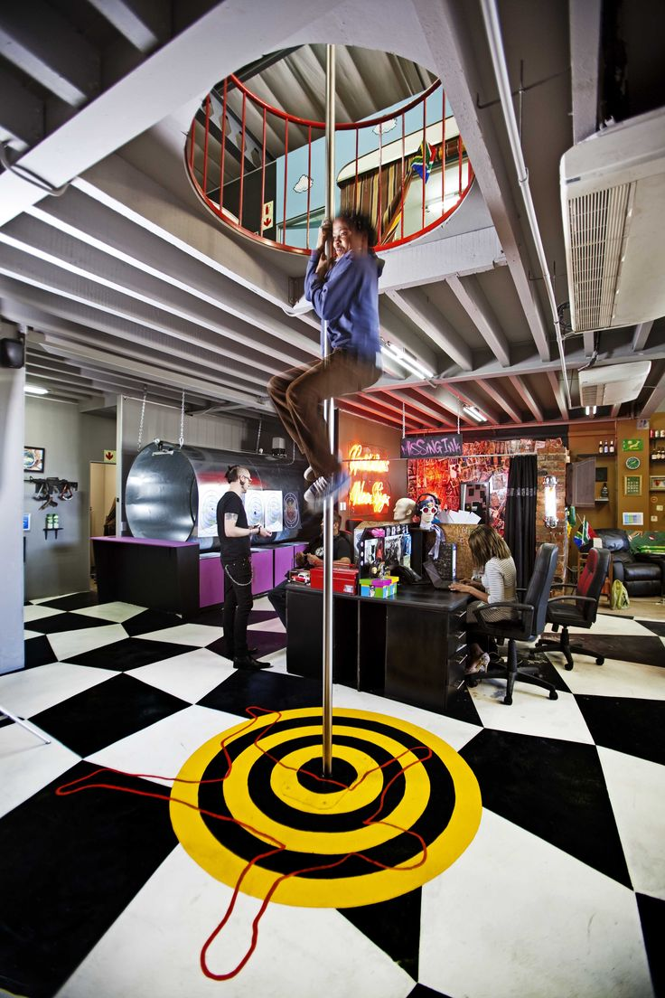 office fun ideas. HQ Of Missing Link Presentations, South Africa. Image Credit: Chris Wessels / | Awesome Offices Pinterest Office Fun Ideas I
