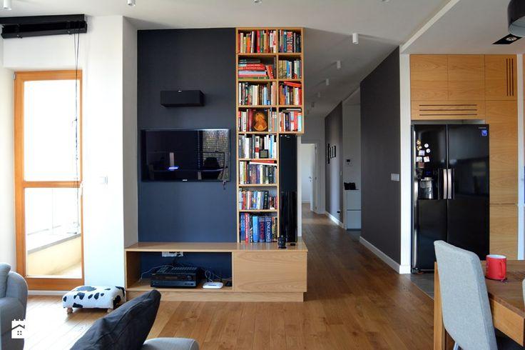 SKANDYNAWSKI MINIMALIZM NA MOKOTOWIE - REALIZACJA - Salon, styl minimalistyczny - zdjęcie od design me too
