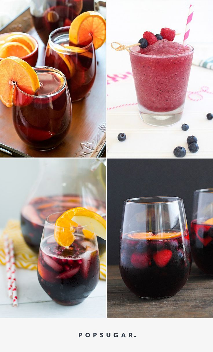 """14 Red Sangria Recipes That'll Have You Saying, """"Yum!"""""""