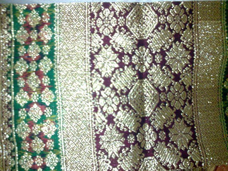 songket pelembang | Songket Palembang Kristal