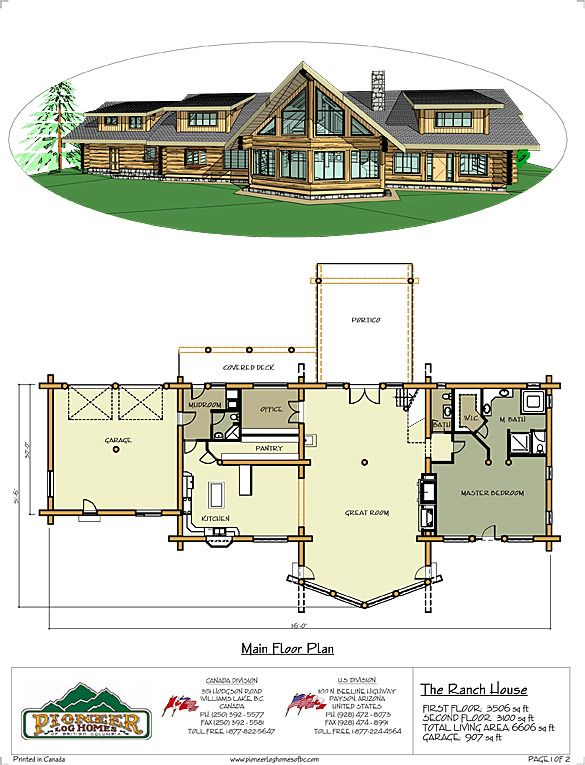 Ranch House Floor Plans Pinterest House Heartland