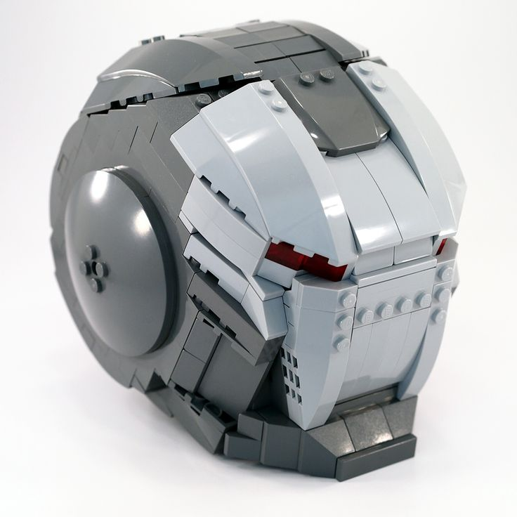 LEGO War Machine Helmet by Mr.Attacki - Come visit us at www.hothbricks.com, www.lordofthebric... & www.brickheroes.com for up to date news about LEGO stuff