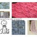 Lavorare a maglia, come fare una copertina per neonato