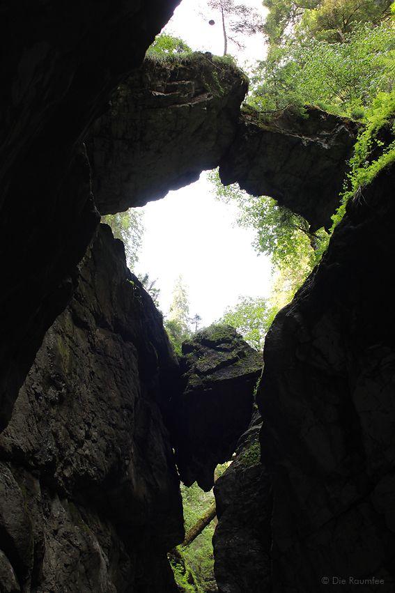 Die Raumfee: Breitachklamm bei Oberstdorf, Allgäu