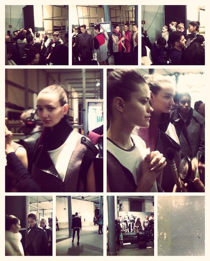 Portugal Fashion Organic FW 14/15 - backstage Luis Buchinho — Le Fashion Post