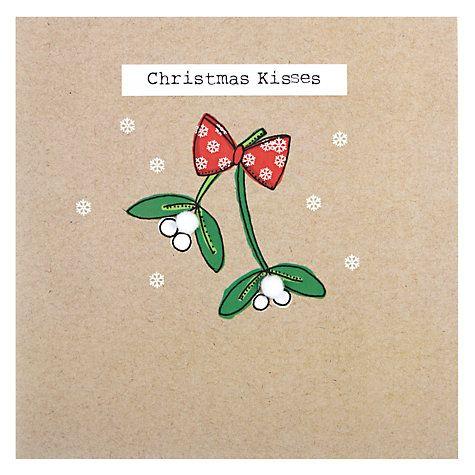 Buy Saffron Kisses Christmas Card Online at johnlewis.com