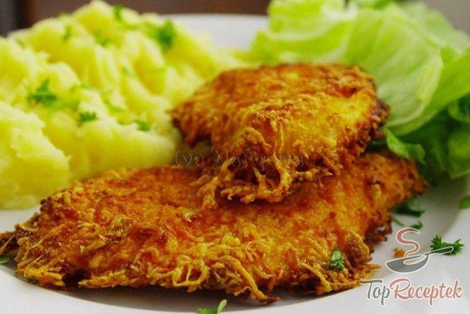 Joghurtos csirkefalatok sajtos bundában | TopReceptek.hu