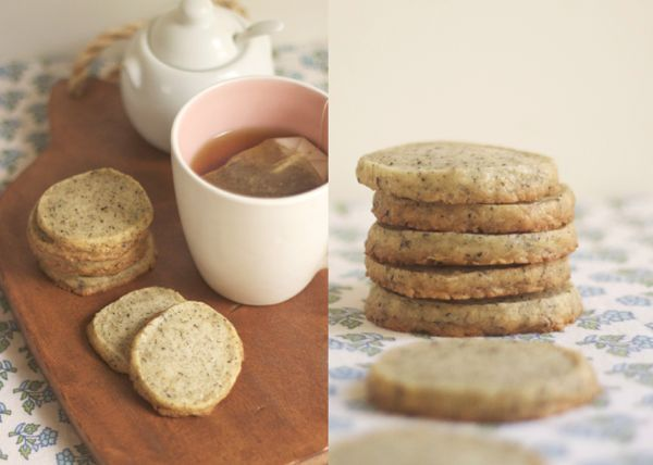 Duchess Grey tea cookies. Melt in your mouth!