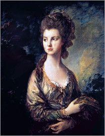 Thomas Gainsborough - Mrs. Thomas Graham