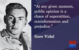 Image result for gore vidal quotes