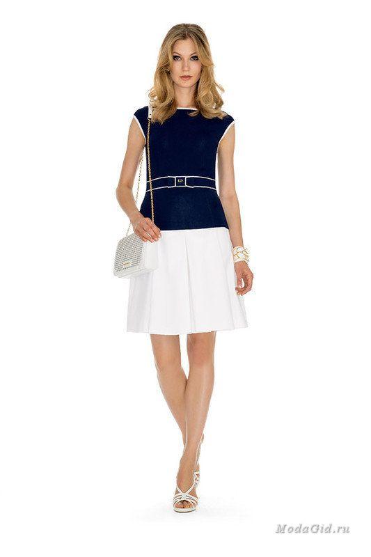 Женская мода: Luisa Spagnoli, весна-лето 2015